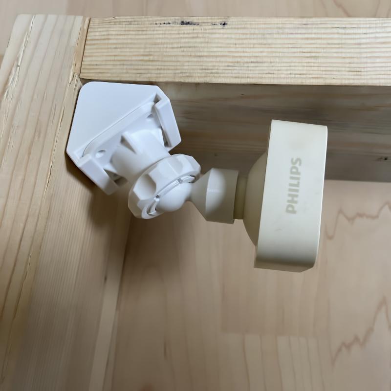 Philips Hue Eckhalterung mit Gelenk